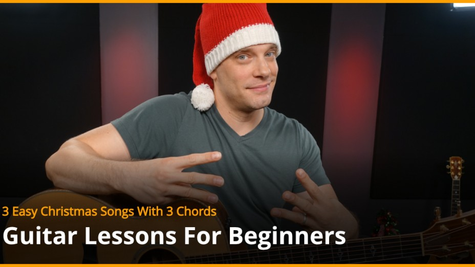 3 Christmas Songs With 3 Chords Guitar Lesson